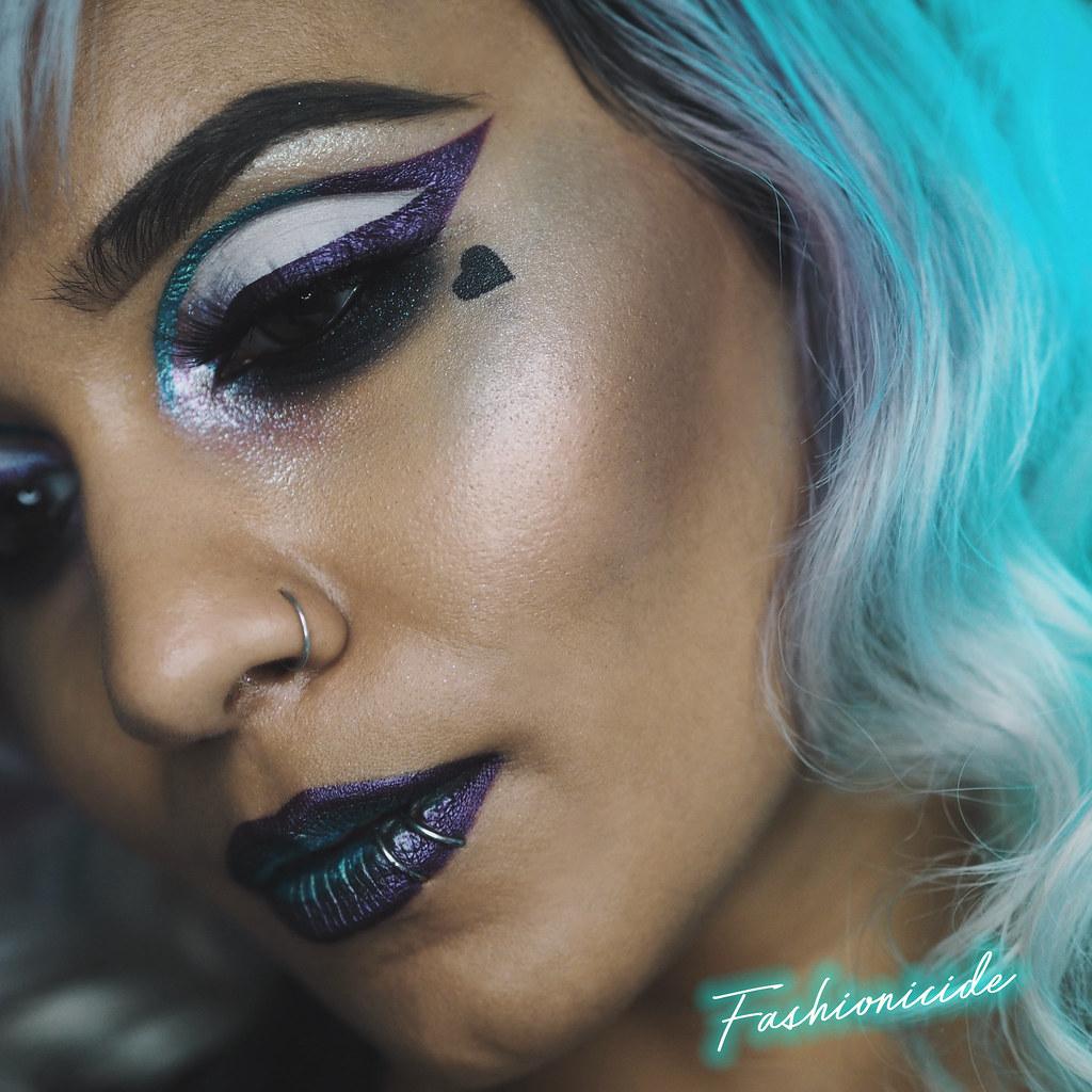 MUA Luxe Halloween Makeup Look