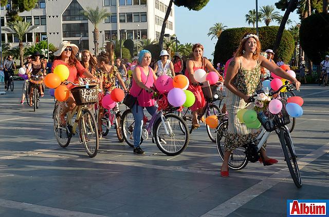 Alanya süslü bisiklet turu