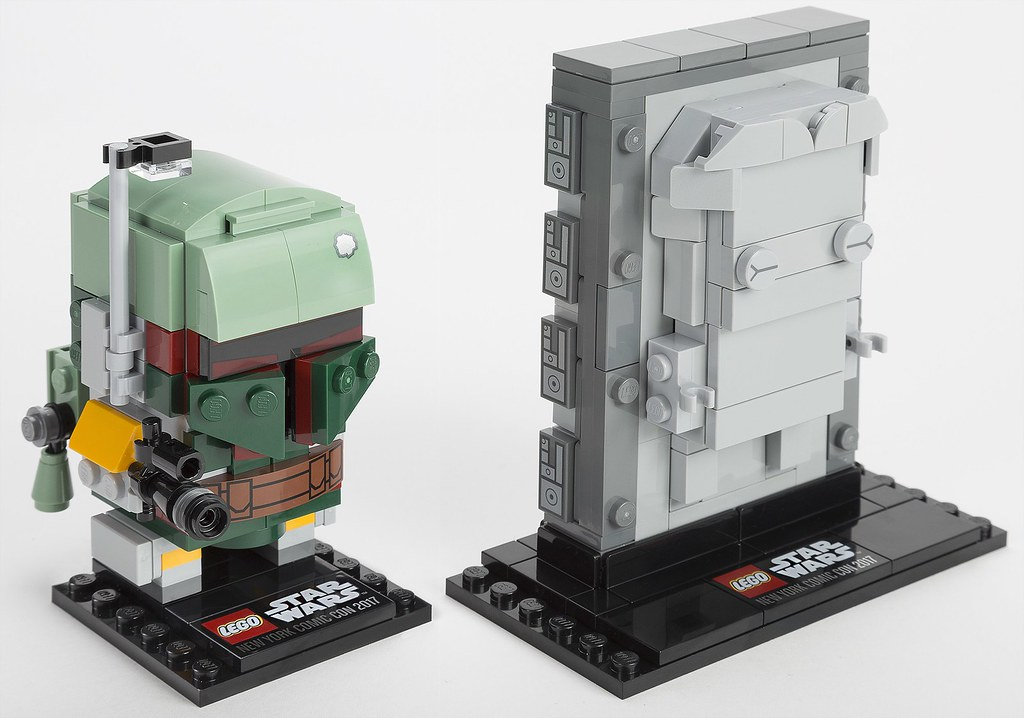 LEGO Star Wars BrickHeadz 41498 - Boba Fett & Han Solo in Carbonite