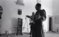 Italian medieval sword master