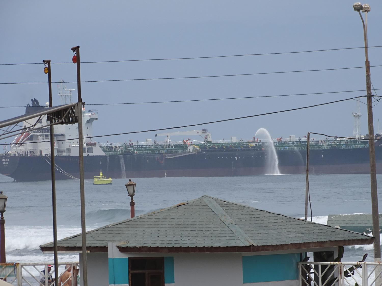 Capitanía de Puerto de Mollendo realizó ejercicio de derrame de Hidrocarburos en Terminal Multiboyas