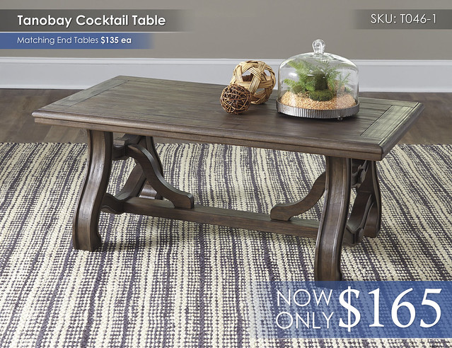 Tanobay Cocktail Table T046-1