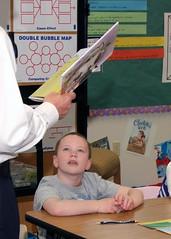 Dr. Rulffes reading week at Judi Steele ES