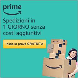 Prova gratis Amazon Prime!