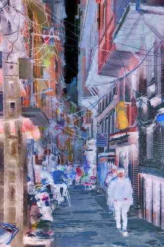 Nepal - Kathmandu - Streetlife - 13bb