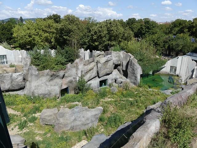 Eisbäranlage, Tiergarten Schönbrunn