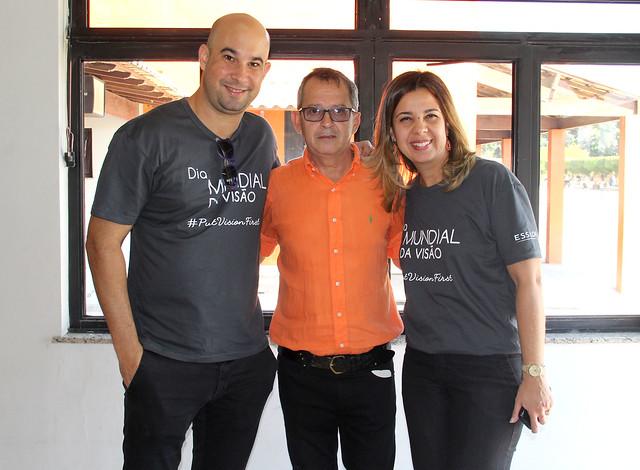 Rafael Botelho, Janio Moraes e Sandra Abreu