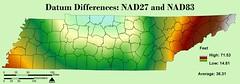 NAD27 and NAD83
