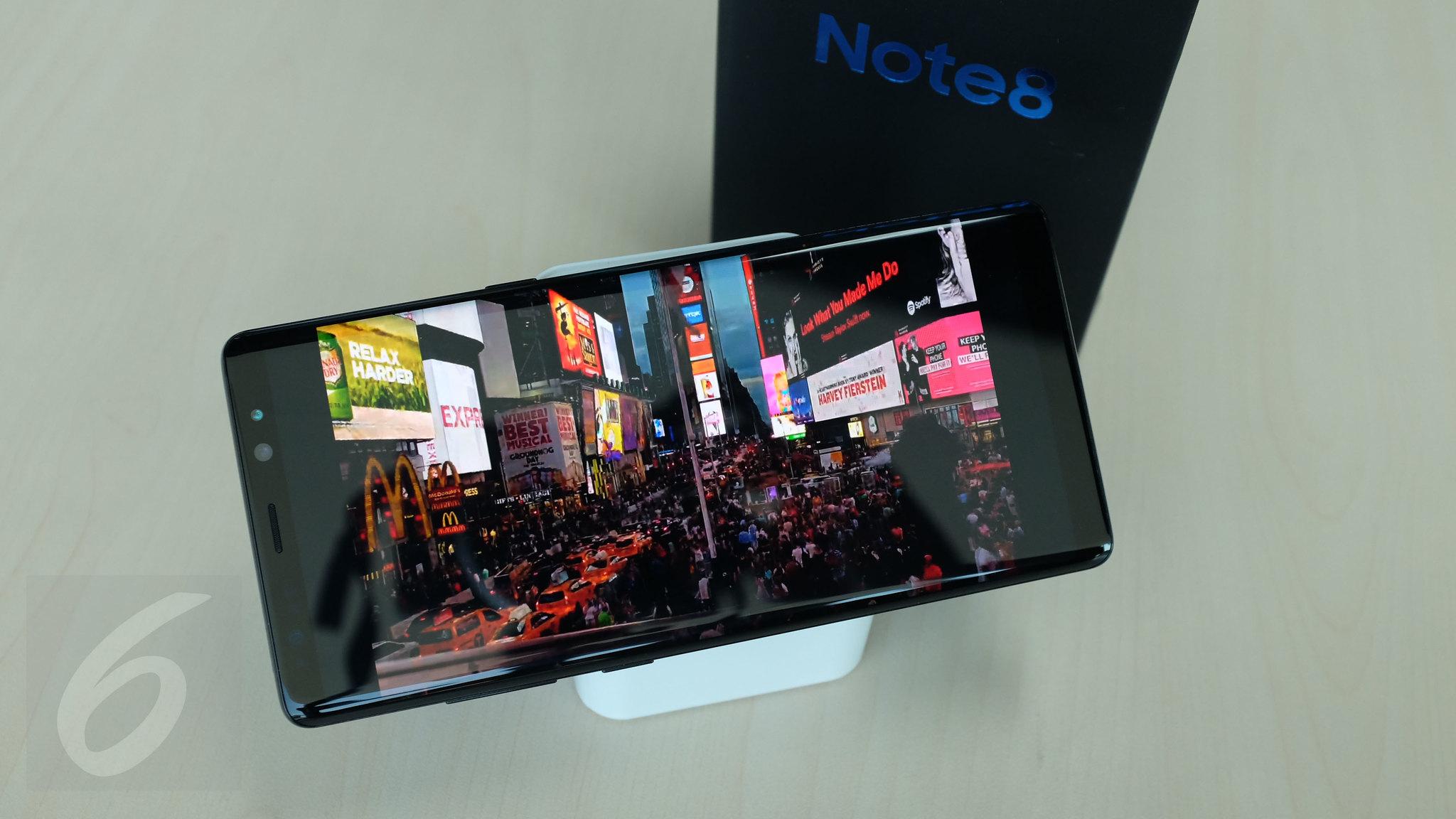 Galaxy Note 8. Liputan6.com/ Iskandar
