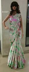 Satin shibori saree | Buy Online Satin shibori saree | CityFashions