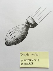 INKtober 2017 -  Day 16 - FAT