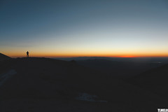 """When lights close their tired eyes"" - Volcano Acotango - Bolivia"