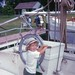 Pete Lesher at CBMM as young boy by Chesapeake Bay Maritime Museum Photos