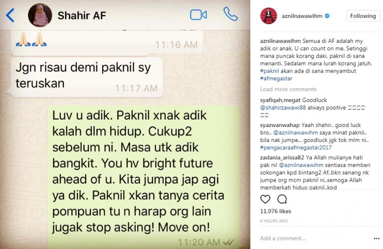 Final Af Megastar, Shahir Tak Hampakan Peminat