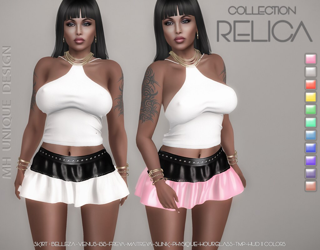 MH-Relica Skirt -Collection - TeleportHub.com Live!