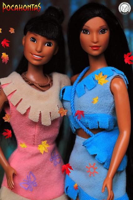 Earth Dance Pocahontas and Nakoma 🍂
