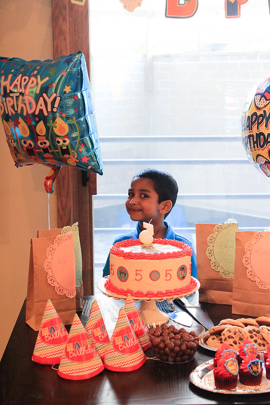 Ian's 5th birthday