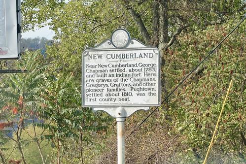 New Cumberland Historical Marker - New Cumberland, WV