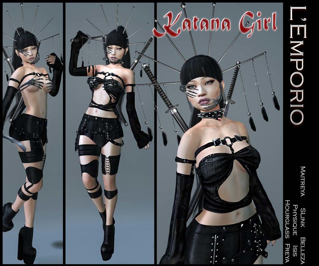 L'Emporio -Katana Girl- Outfit - TeleportHub.com Live!