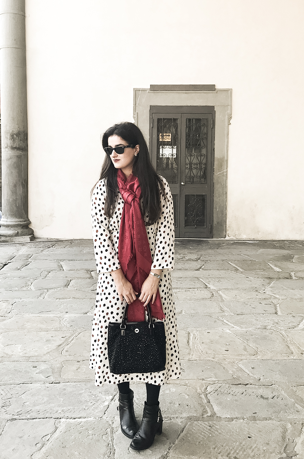 something fashion blogger influencer streetstyle firenze spain italianbloggers erasmus student hm dress what to wear_01