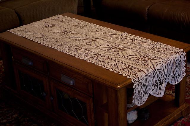 Crochet Table Runner