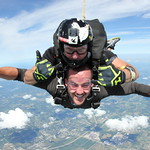 Peace, Love and Skydiving.  Featuring Tandem and Accelerated Freefall Instructor Phil White