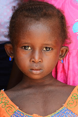 portrait of girl from Bissau