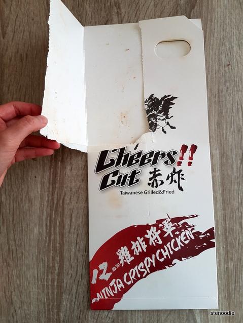 Cheers Cut chicken carton