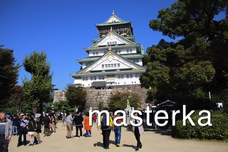 大阪城全体図