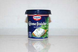 10 - Zutat Creme fraiche / Ingredient creme fraiche