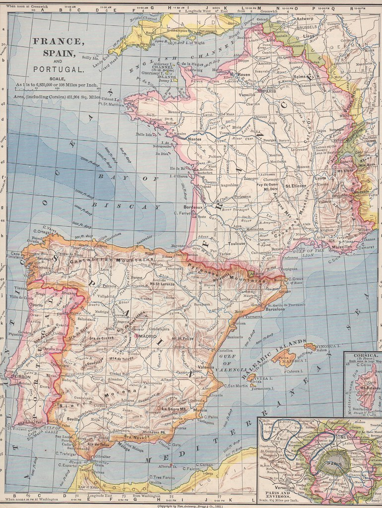 Map Of Spain Portugal And France.France Spain Portugal Map Download Photo Tomato To Search