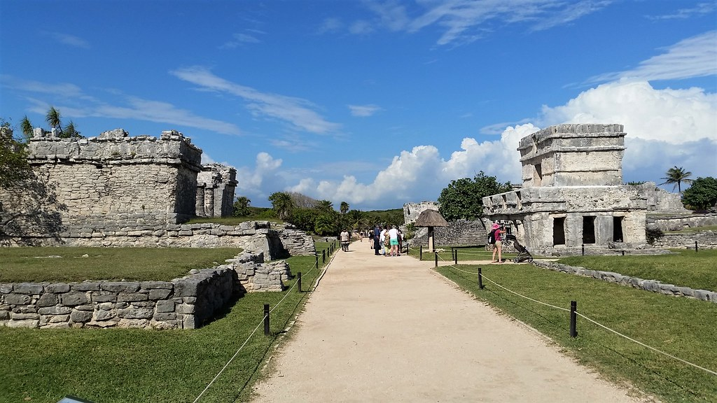 Ruiny Majów w Tulum, Meksyk