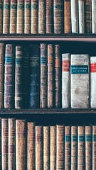 In a mini library actually it's an advocate collection in every advocate have their own library coz some times they might refer books belongs to cases.... not nly that and in every advocate is learner coz need to listen all the details of that case and fi