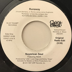 NUYORICN SOUL:RUNAWAY(LABEL SIDE-A)