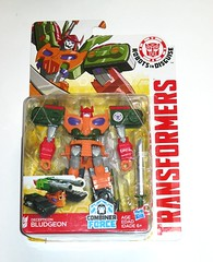 transformers robots in disguise 2015 bludgeon warrior class combiner force hasbro 2017 mosc a