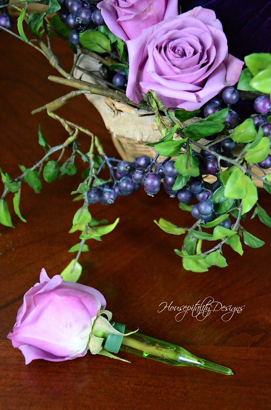 Roses & Blueberries-Housepitality Designs