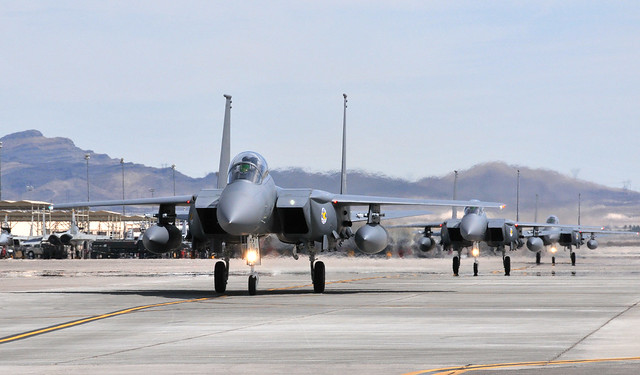 Republic of Korea Air Force arrive for Red Flag 08-04