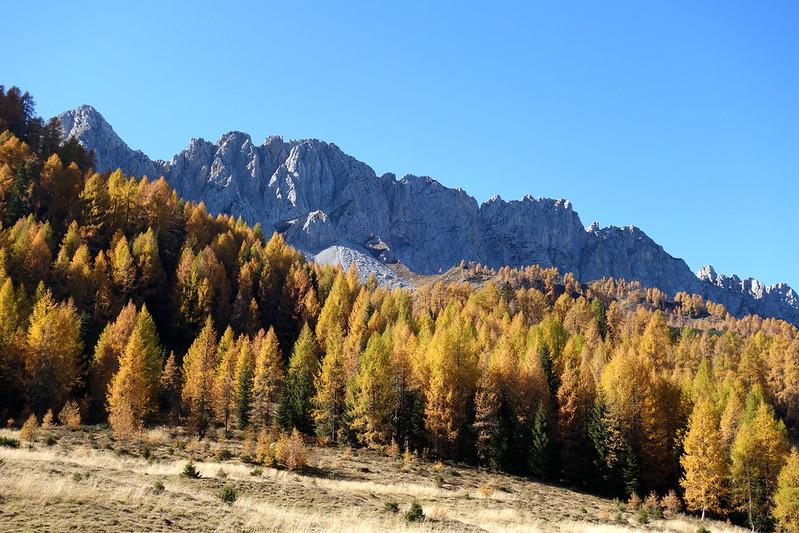 Tiarfin Cima Est d'autunno