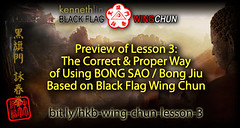 Wing Chun Bong Sao Technique based on Maximum Efficiency