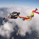 Caption This!Videographer Robbie Roncelli Having Some Fun On A Tandem Skydive