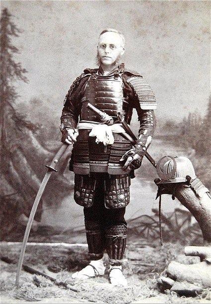 American in Japan, 1890