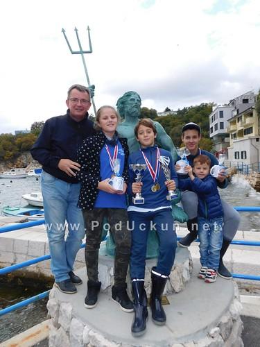Liburnijski sportaši 'ulovili' visoke pozicije na otvorenom natjecanju škola ribolova u Kostreni @ Lovran, Ičići