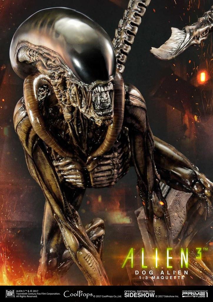 史上最恐怖的看門狗!! Prime 1 Studio《異形3》異形狗 Alien 3 Dog Alien ドッグエイリアン MMAL-01DX 1/3 比例全身雕像作品豪華版