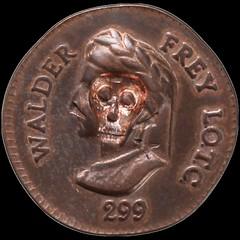 Death's Head Walder Frey Penny obverse