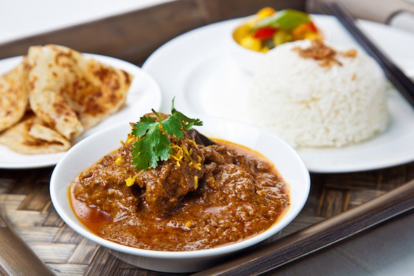 Ibis at Macpherson: Beef-Rendang-Served-with-Steamed-Rice