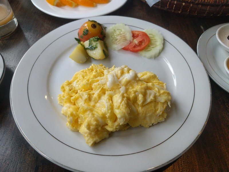 Breakfast of Yangon Heritage Hotel