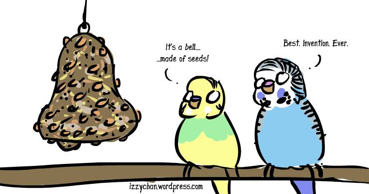 budgie seed bell dennis and wilson
