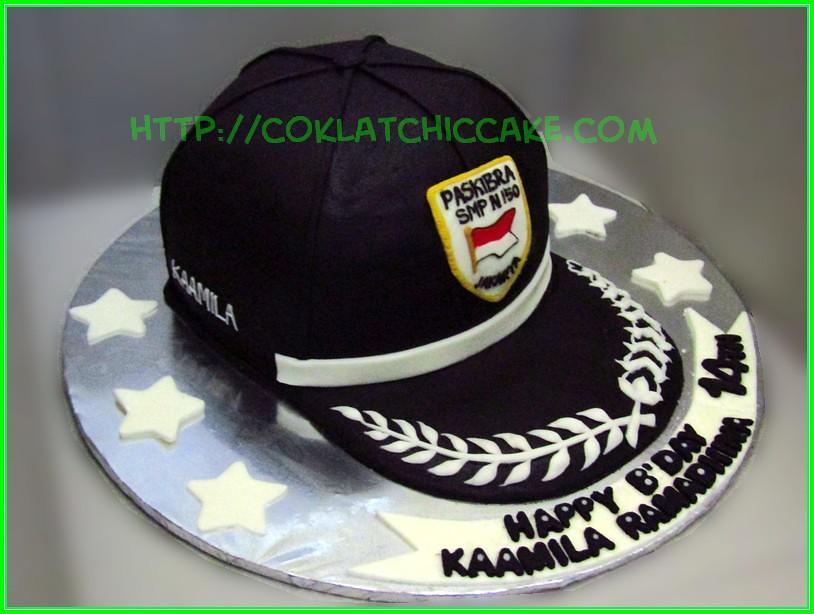 Cake Topi Paskibra KAAMILA