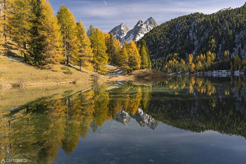 Perfect reflection - Lai da Palpuogna