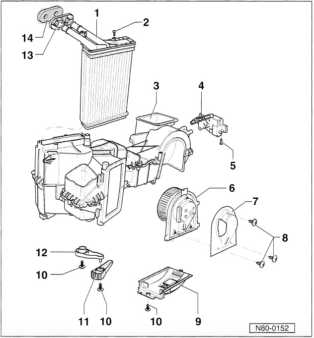 vwvortex com heater core removal replacement 2000 jetta vr6 rh forums vwvortex com 2004 dodge ram heater box diagram defender heater box diagram